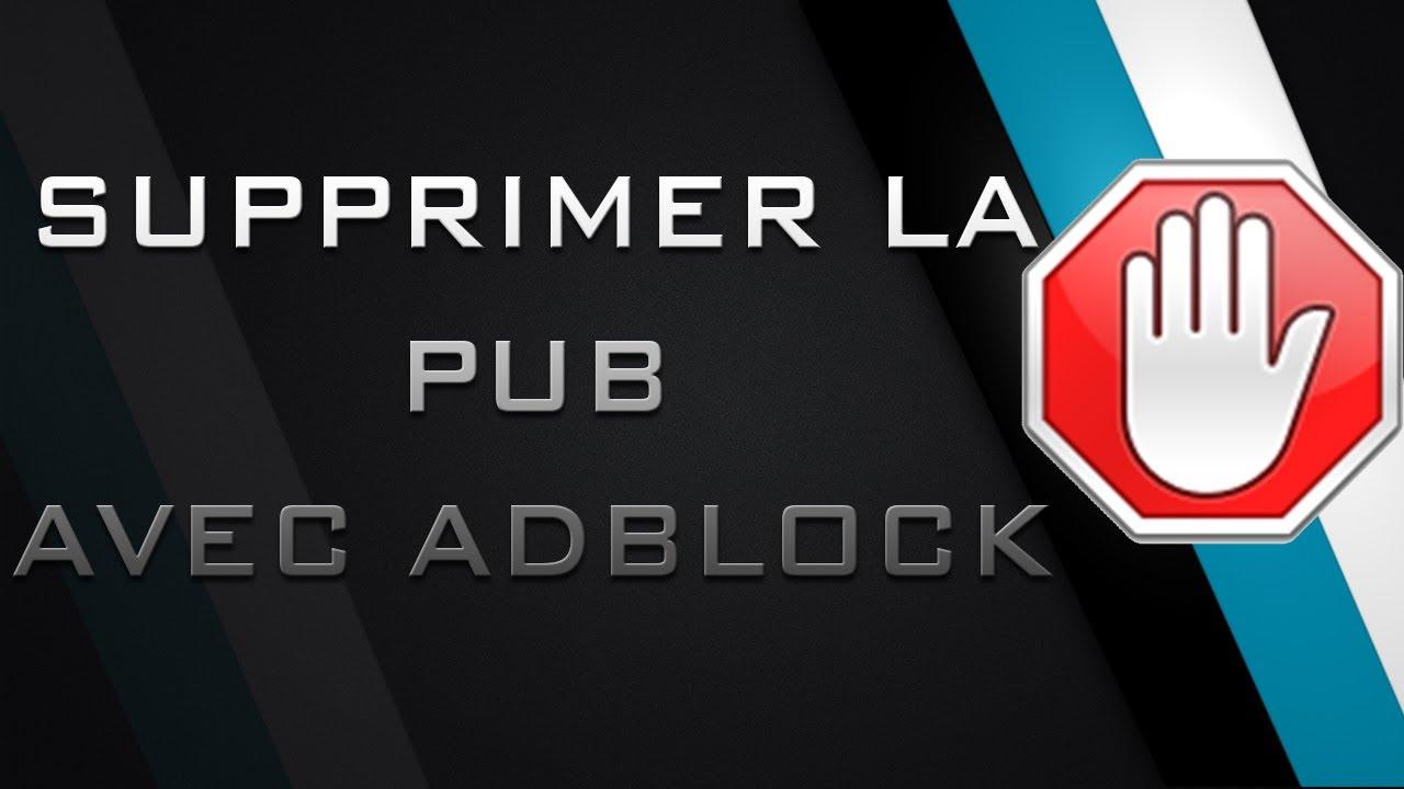 Comment supprimer les pub sur pc for Bloqueur de fenetre publicitaire